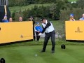 Francesco Molinari swing vision front on